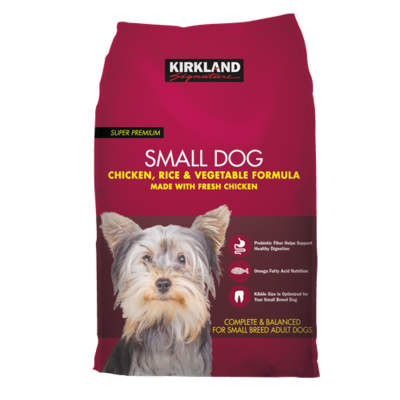 Kirkland Signature Small Breed Dog Food 20 lb/9.07 kg