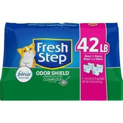 Fresh Step Cat Litter 4 Pack - 10.5 lb/ 4.76 kg