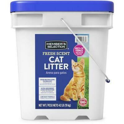 Member's Selection Fresh Scent Cat Litter 19 kg / 42 lb