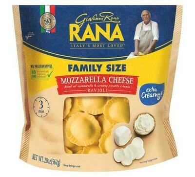 Rana Mozzarella Cheese Ravioli 567 g / 1.25 lb