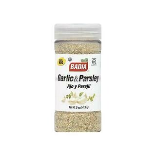 BADIA GARLIC GROUND/PARSLEY- 5 oz