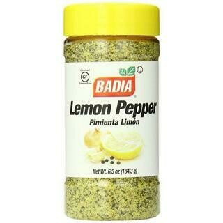 BADIA LEMON PEPPERS SEAS EMP6- 6.50 oz