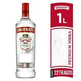 VODKA SMIRNOFF LITRO- 1000 ml