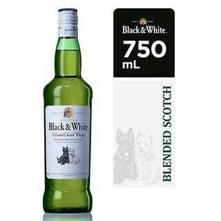 BLACK & WHITE- 750 ml