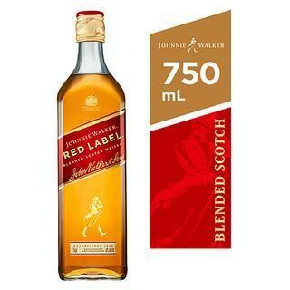 JOHNNIE WALKER RED 750ML- 750 ml