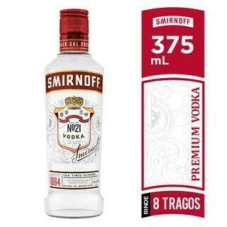 VODKA SMIRNOFF 375ML- 375 ml
