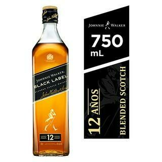 JOHNNIE WALKER BLACK- 750 ml