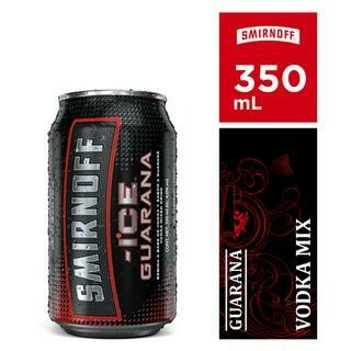 SMIRNOFF ICE GUARANA CAN- 350 ml