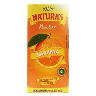 JUGO DE NARANJA TETRA PACK- 946 ml
