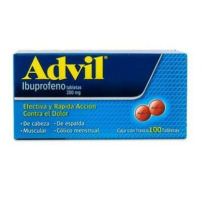 Advil Ibuprofen 100 tablets