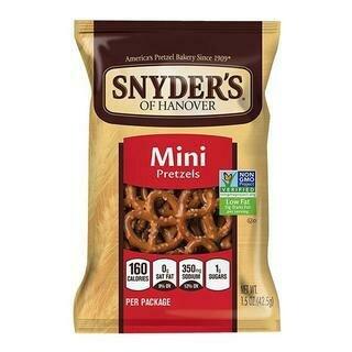 SNYDER'S MINI PRETZELS- 42.5 gr