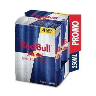 RED BULL FOUR PACK (PTP)- 250 ml