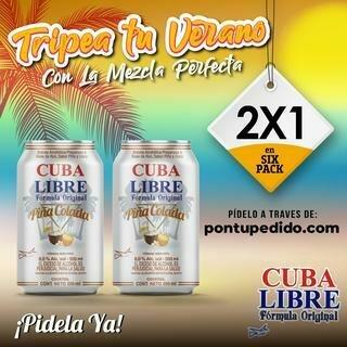 CUBA LIBRE PINA COLADA- 350 ml
