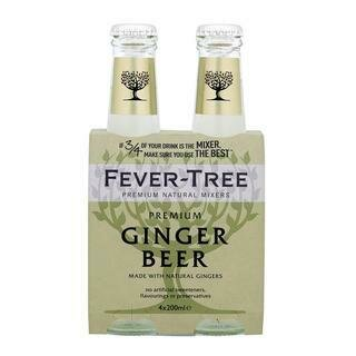 FEVER TREE GINGER BEER 4PK 200ML- 200 ml