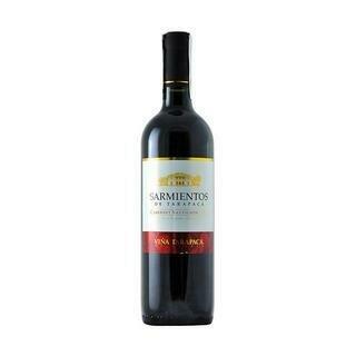 SARMIENTOS CABERNET SAUVIGNON- 750 ml