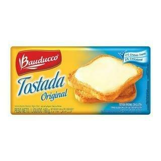 BAUDUCCO TOSTADAS ORIGINAL 160GR- 160 gr