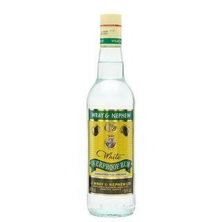 WRAY & NEPHEW WHITE OVERPROOF RUM- 750 ml