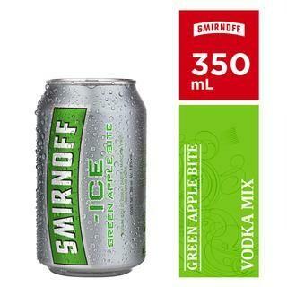 SMIRNOFF ICE GREEN APPLE LATA- 350 ml