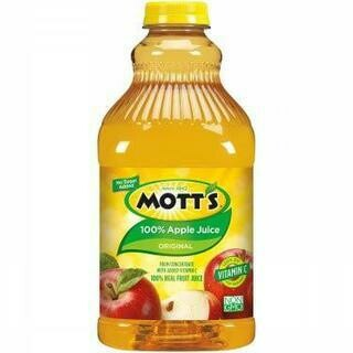 MOTTS APPLE JUICE PET- 64 oz