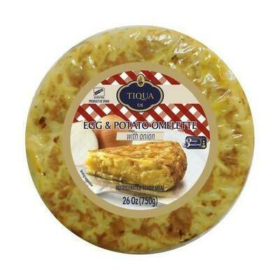 Tiqua Spanish Omelet 750 g/ 26 oz