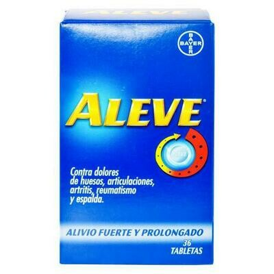 Aleve Extra Strenght 36 Tablets