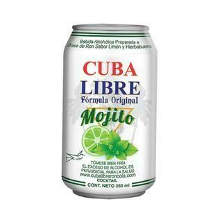 CUBA LIBRE MOJITO- 350 ml