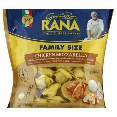 Rana Chicken and Mozzarella Tortelloni, 567 g / 1.24 lb