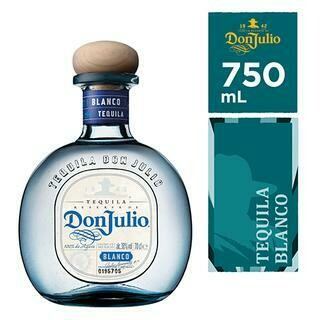 DON JULIO SILVER- 750 ml