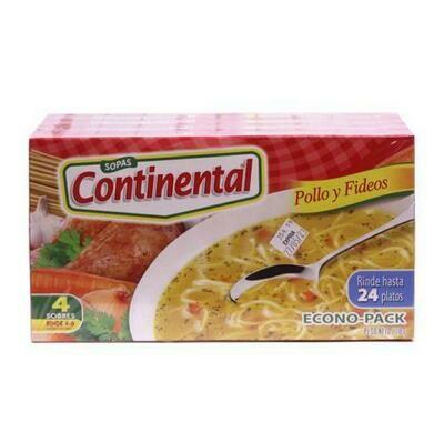 Continental Chicken & Noodle Soup 4 units/220g