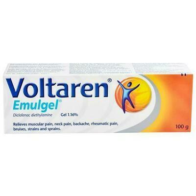 Voltaren Gel Anti - Inflammatory 100 g