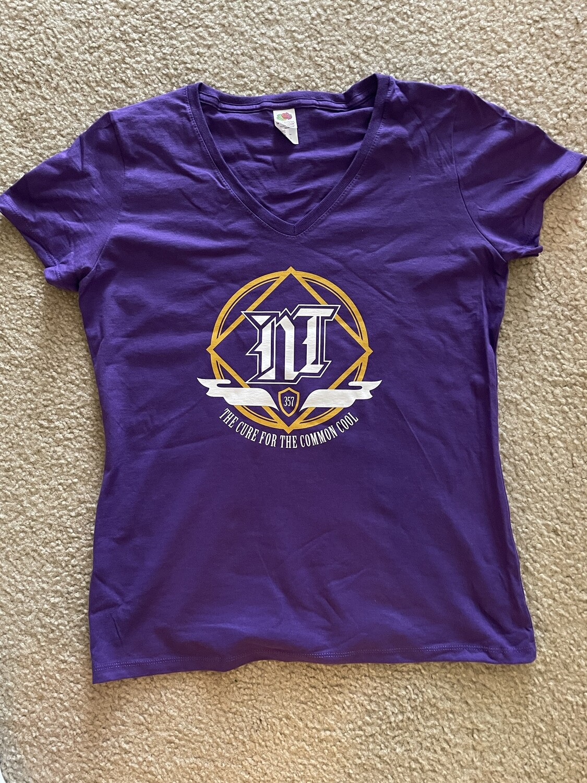 Ladies Purple Night Train 357 T-Shirt