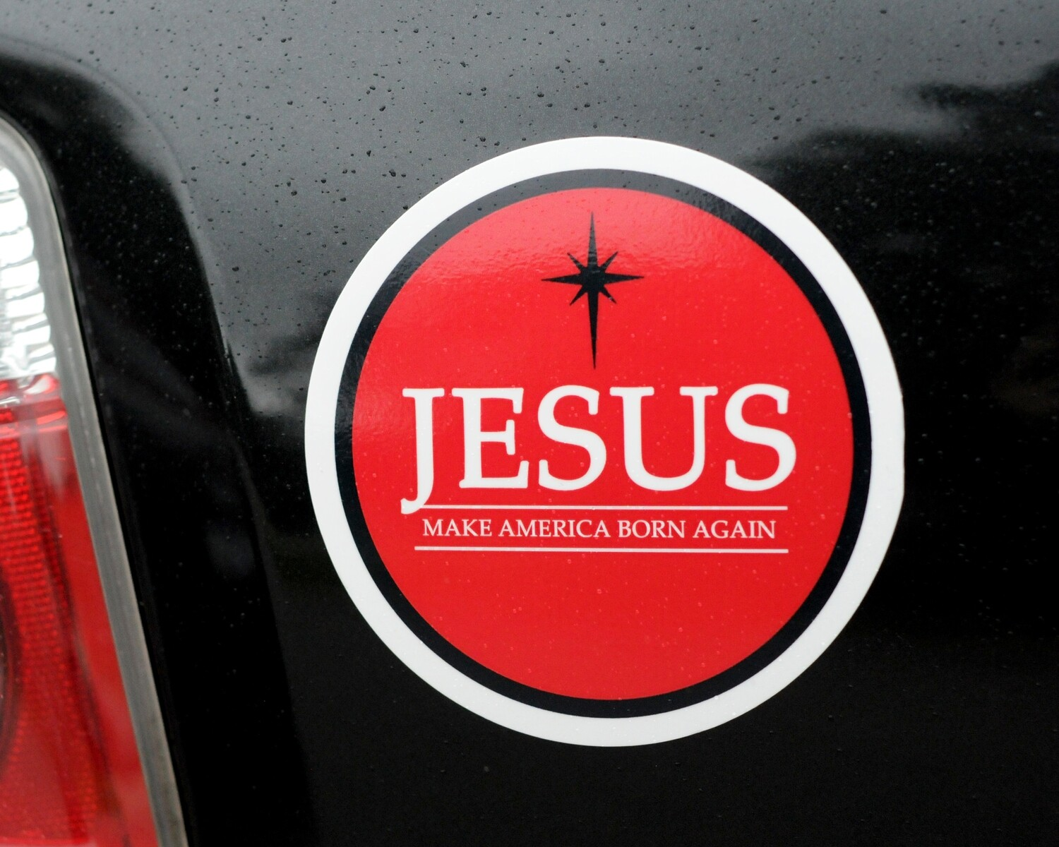 "Born Again 5"" Magnet"