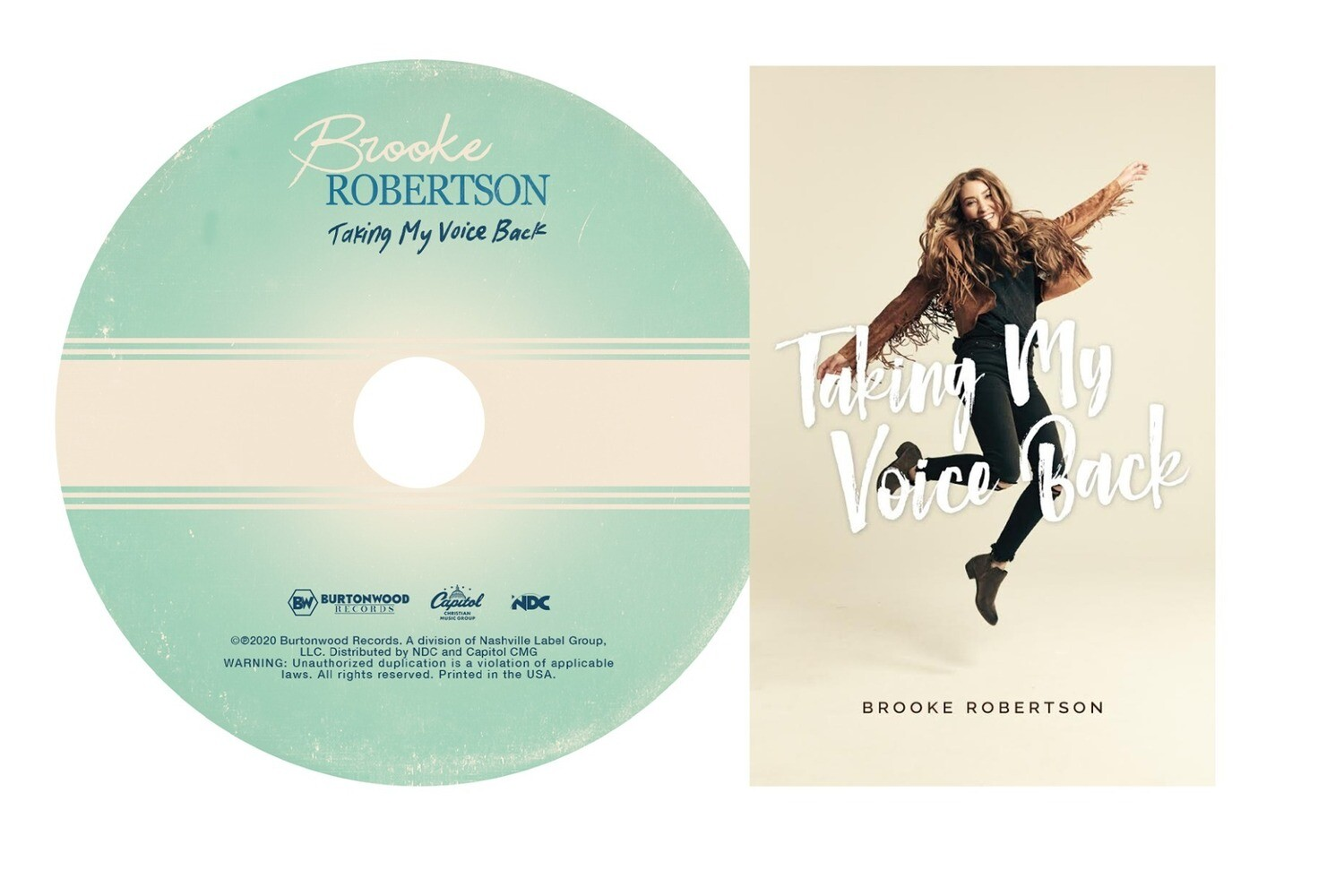 """""""Taking My Voice Back"""" CD (With Free Poster and Signature)"""