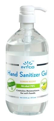 70% Ethyl Alcohol Hand Sanitizer Gel (33oz) w/ Aloe