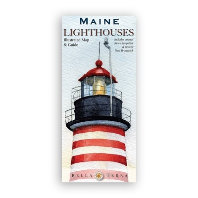 Maine Lighthouse Map