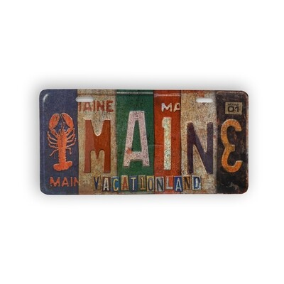 License Vintage Plate