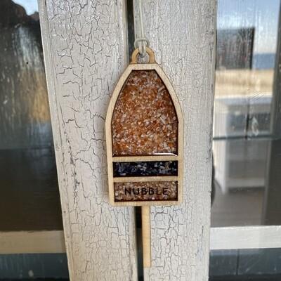 Shellware Wooden Buoy Ornament
