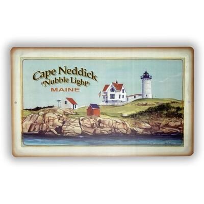 Tin Cape Neddick Sign
