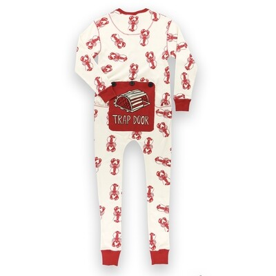 Flapjack Trap Door PJ Set
