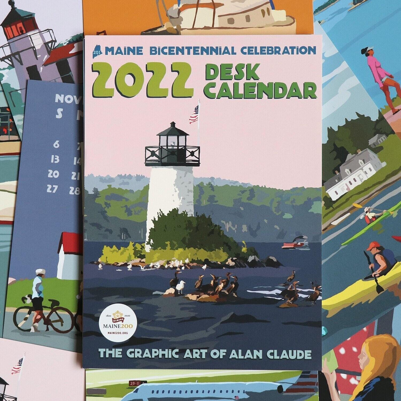 Desk Calendar Alan Claude