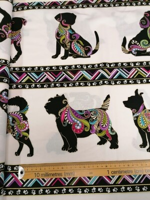 Benartex Dog on it  and Cat-I-Tude 100% cotton