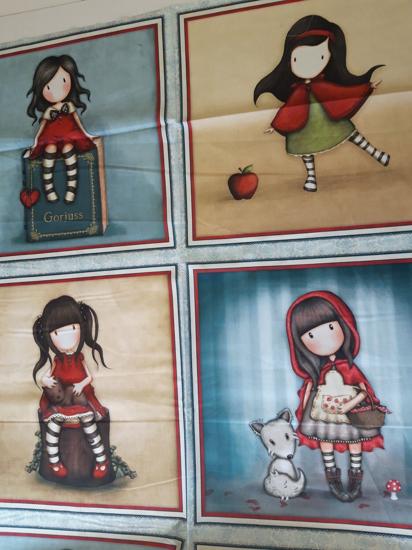 Santoro Gorjuss My Story Panel fabric