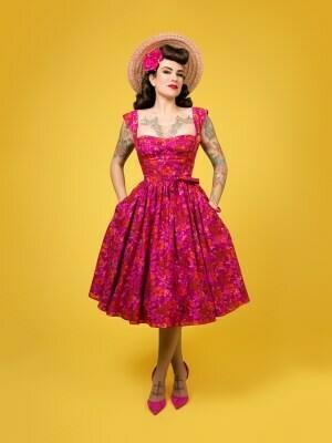 Charm Pattern, The Liz Dress