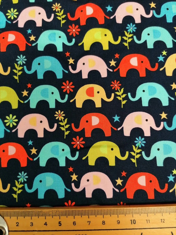Colourful Elephants