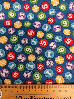 Quilting Treasures - Numbers - Thomas The Tank Engine