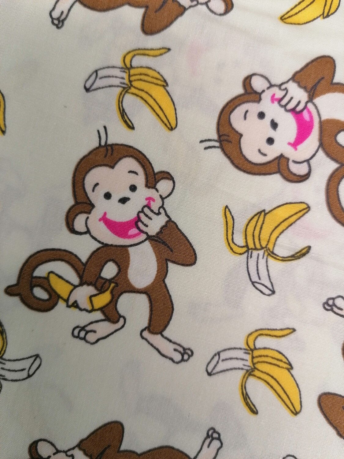 Cheeky Monkey on cream background