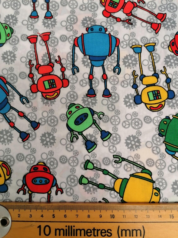 The CCC - Robots fabric