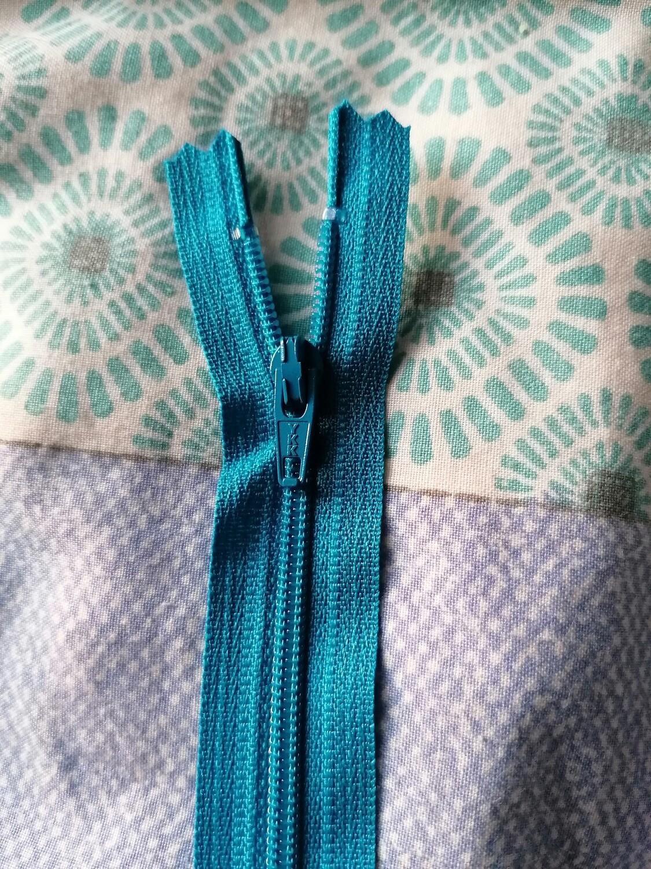"30cm (12"")  dress zip - Kingfisher"