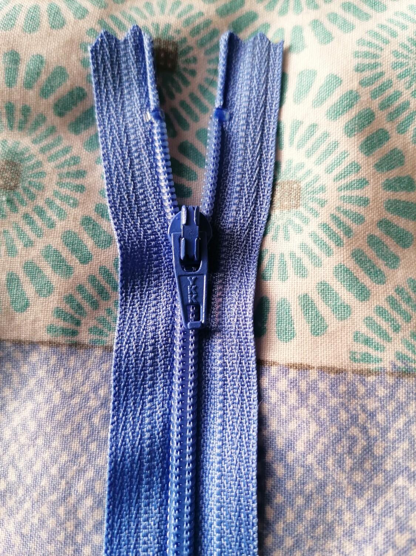 """30cm (12"""")  dress zip - Hyacinth"""