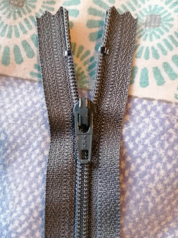 """30cm (12"""")  dress zip - Mid Grey"""